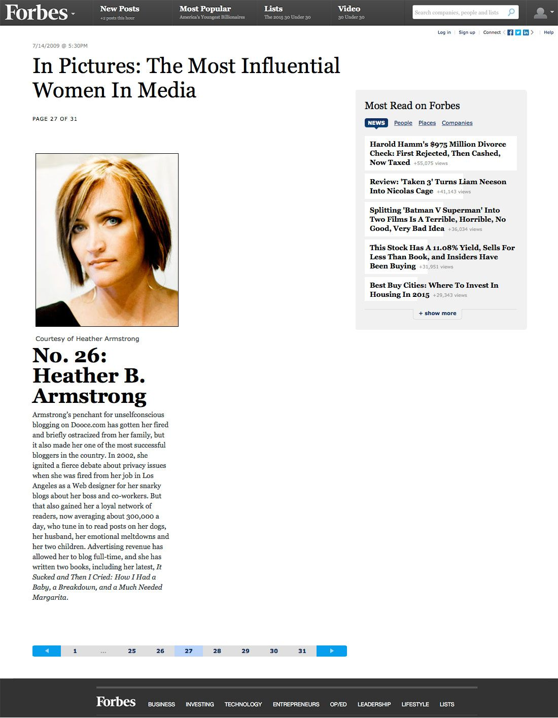 In Pictures: The Most Influential Women In Media